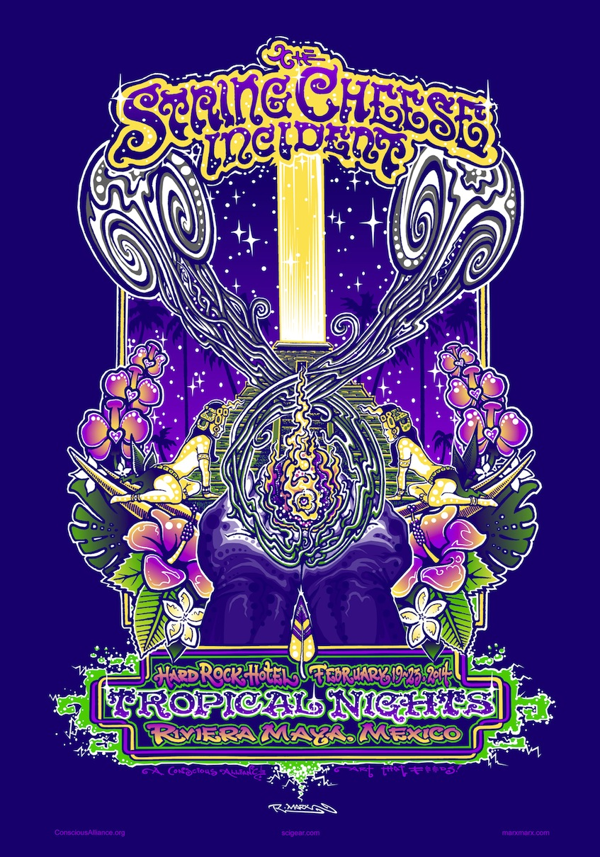 The String Cheese Incident  - Tropical Nights 2014